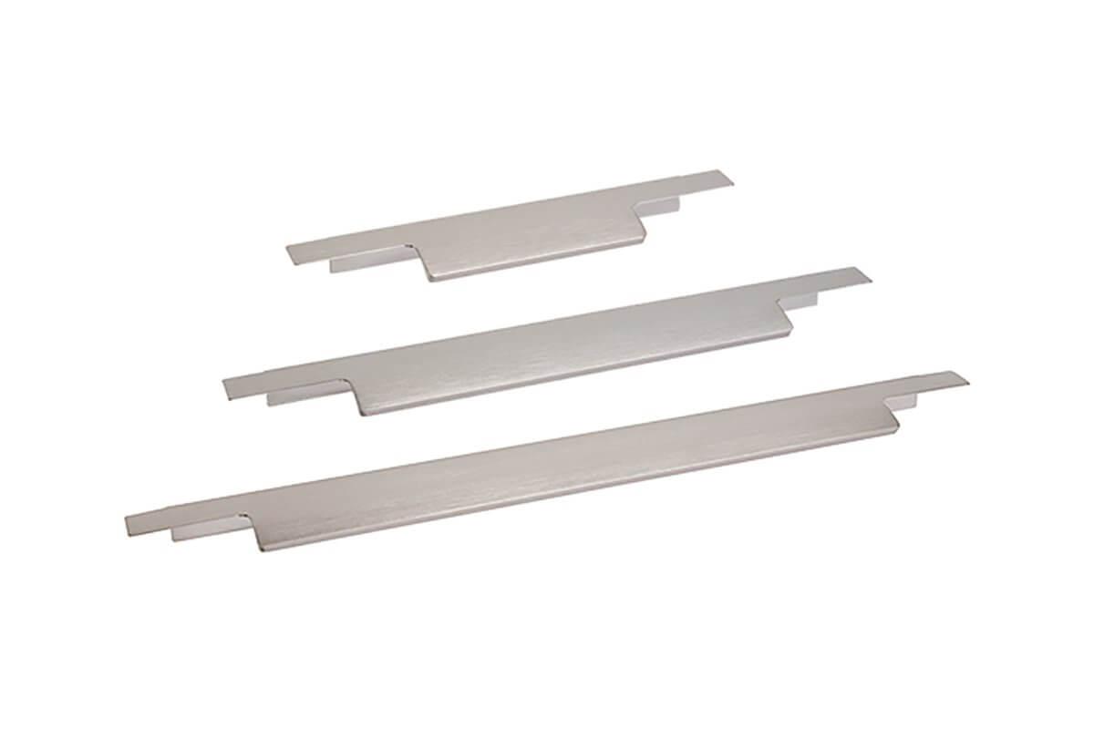 DP247 Mockett Drawer Pull Cabinet Hardware Handle Aluminum