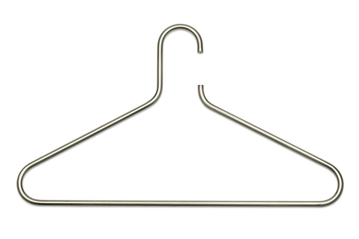 HNGR6-SSS (Satin Stainless Steel) Mockett Clothes Hanger