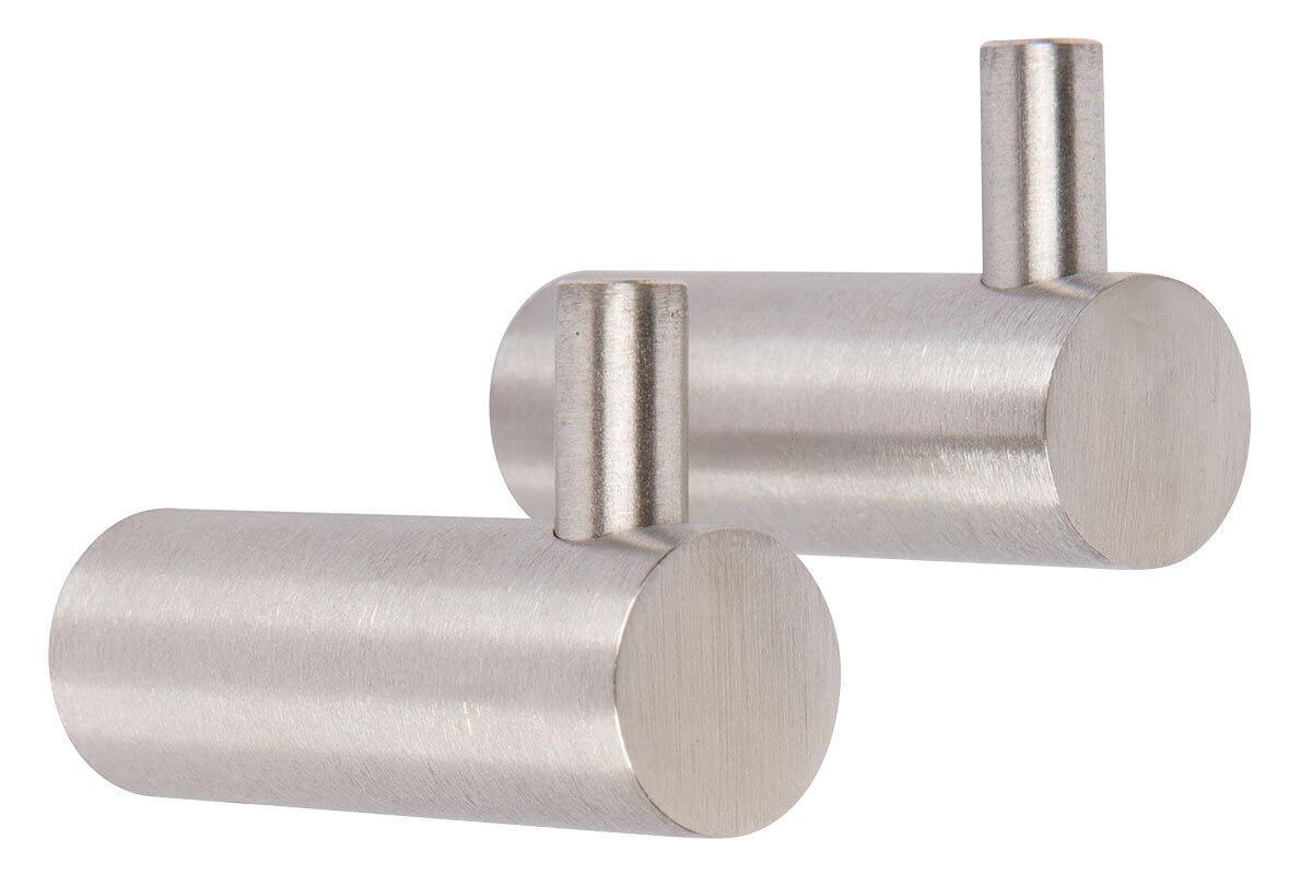 HK2A-SSS (Satin Stainless Steel) Mockett Coat Hooks Wall Hooks Coat Rack
