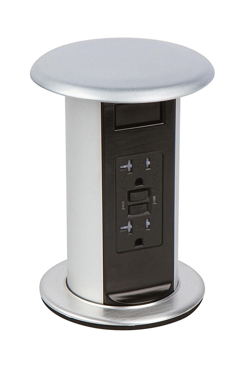 Pop Up Kitchen Grommet 20a Countertop Gfi Outlets